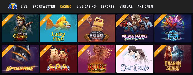 STSbet Casino Erfahrungen