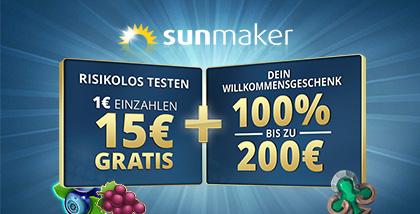 Sunmaker Promo Code