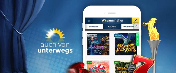 Sunmaker Casino Mobil