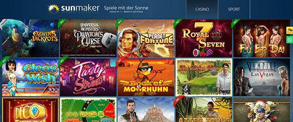 Casino Spiele Sunmaker