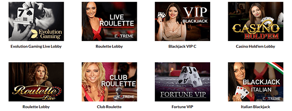 Superlines Casino Live Spiele