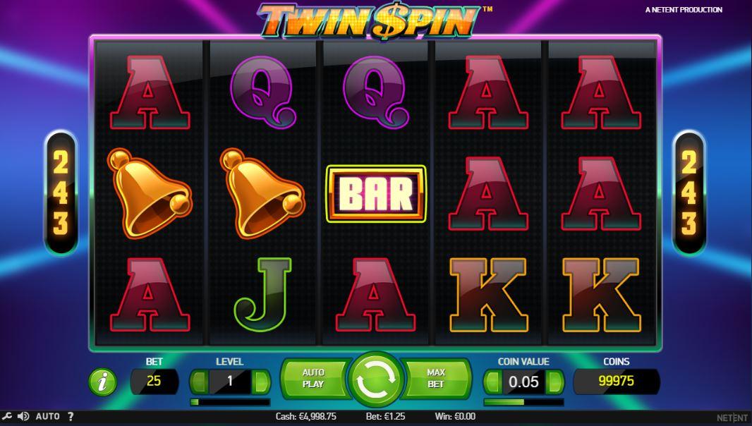 Twin Spin kostenlos testen
