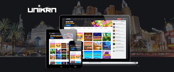 Unikrn Casino Mobil