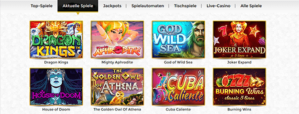 Unique Casino Spiele