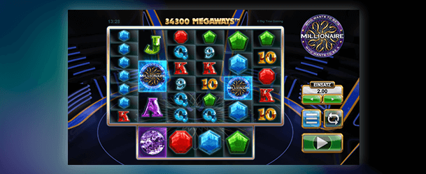 Who wants to be a millionaire slot spiel