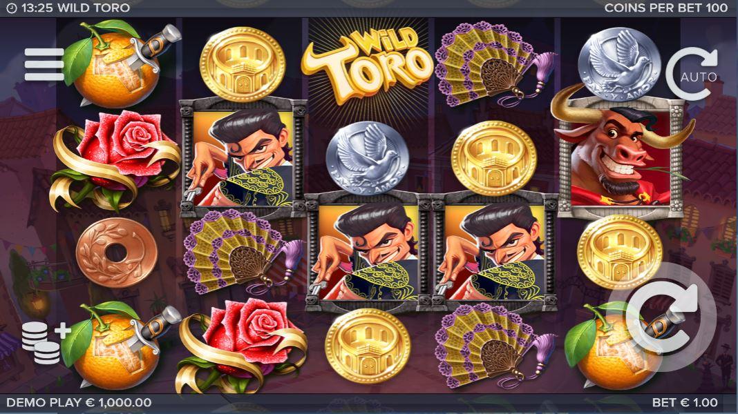 Wild Toro kostenlos testen