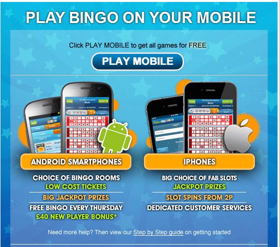 Die Bingo Apps von William Hill