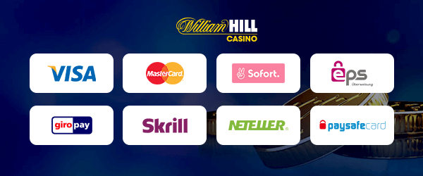 William Hill Casino Zahlungsmethoden