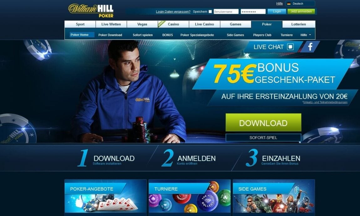 william hill poker erfahrungen