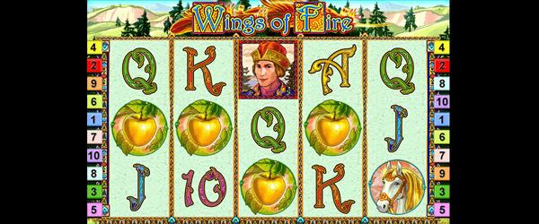 Wings of Fire Slot Symbole