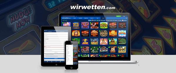 WirWetten Casino Mobile