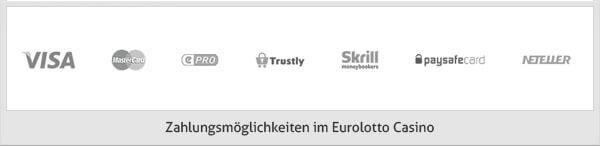 Eurolotto Casino Zahlungsmöglichkeiten